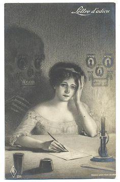 Image result for image skeleton grave letter