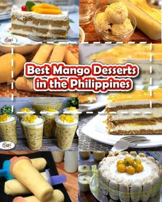 Best Mango Desserts in the Philippines - Learn more about how versatile Mangoes . Best Mango Desserts in the Philippines - Learn more about how versatile Mangoes are with the easy-to-do recipes we've collated on this page. via Pinoy Recipe at Iba Pa Mango Fruit, Filipino Desserts, Filipino Recipes, Pinoy Recipe, Buko Salad, Mango Health Benefits, Mango Desserts, Dinner Recipes