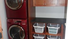 For the Home / Need to stack my washer and dryer! kids laundry room