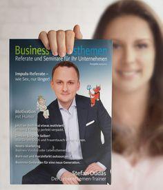 BusinessLebensthemen-Broschüre jetzt kostenlos bestellen – Referate für Unternehmen. www.stefandudas.com Comedy, Burn Out, Mental Training, Marketing, Humor, Motivation, Books, Wife Swapping, Business
