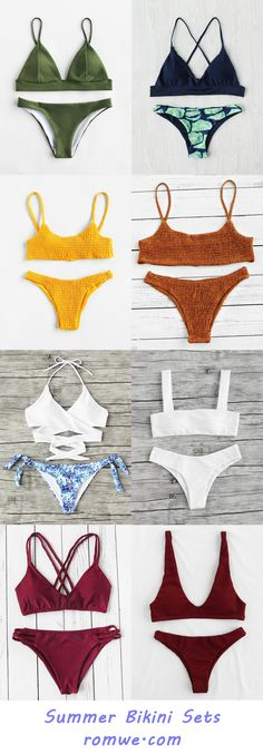 Summer Bikini Sets 2017 - romwe.com