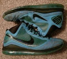 9164d580df9 Nike Air Max Lebron 7 VII 2010 All Star Chlorine Blue Black Copa Size