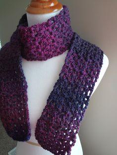 Fiber Flux...Adventures in Stitching: Free Crochet Pattern...Blueberry Pie Scarf!