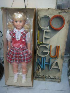 Boneca Antiga Coleguinha + Caixa Promo Só Hoje - R$ 409,00 no MercadoLivre
