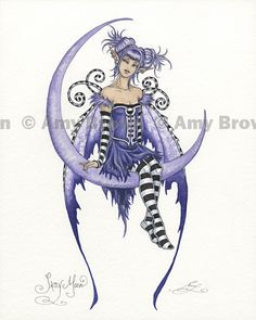 Amy Brown Fairy Art - The Official Gallery - Sassy Moon  sc 1 st  Pinterest & 409 best Amy Brown Fairies u0026 Fantasy Art images on Pinterest | Amy ...
