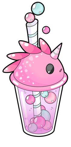 The last commission I did, I'll now work on my logo and also on some kawaii gas mask I take bubble tea commission (an animal bubble tea, a pokemon, whatever you want for if you're ever. Cute Kawaii Drawings, Kawaii Doodles, Kawaii Chibi, Anime Kawaii, Kawaii Art, Deco Tumblr, Images Kawaii, Stress Relief Toys, Kawaii Wallpaper