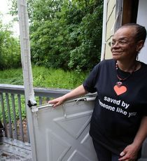 """Roxanne Watson of Nanuet, heart-transplant recipient, gets NBC """"George to the Rescue"""" house makeover for her work registering organ donors"""
