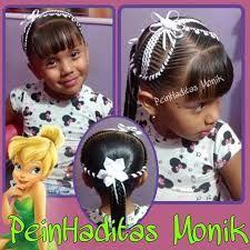 Resultado de imagen para peinados monik Party Hairstyles, Girls Hairdos, Braided Updo, Girls Braids, Faces