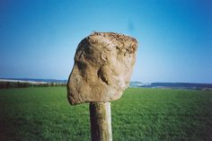 Sarsen head in left profile. SF 78. Found together with a sarsen triangle. The Lost World, Bronze Age, Stone Carving, British Isles, Caves, More Pictures, Fertility, Triangle, Stones