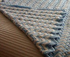 Double sided blanket - Crochet creation by Edna