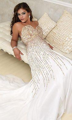 Prom dress Material.