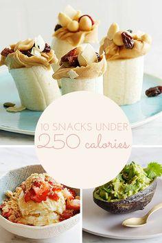 10 snacks under 250 calories (low calorie) : food network lu 250 Calorie Meals, Low Calorie Snacks, No Calorie Foods, Low Calorie Recipes, Healthy Snacks, Healthy Eating, Healthy Recipes, Diet Soup Recipes, Gourmet Recipes