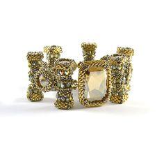 Alley Cat Bracelet Beading Kit Silver & от LiisaTurunenDesigns