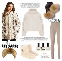 """""""Isabella Reversible Sculpted Bleached Mink Jacket"""" by furhatworld ❤ liked on Polyvore featuring FRR, Steffen Schraut, Balmain, women's clothing, women, female, woman, misses, juniors and iceskatingstyle"""