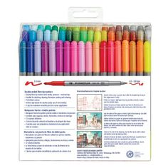 Twin Tip Markers - Staedtler Cute School Supplies, Craft Supplies, Office Supplies, Stabilo Boss, Twin Tips, Ink Wash, Marker Pen, Head Start, New Hobbies