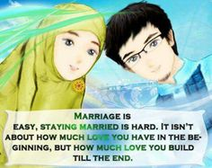 Building love after marriage