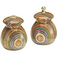 Fiesta Wood Salt and Pepper Set - Furniture, Home Decor & Home Furnishings, Home Accessories & Gifts | Expressions