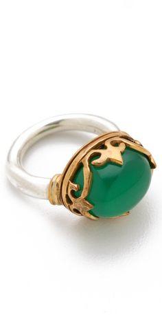 PUSHMATAaHA Small Monarch Ring