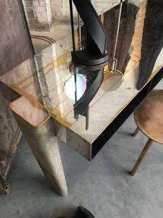 Table by Vincenzo De Cotiis at Studio Oliver Gustav.  11 Howard Street, New York  #fionalynch #fionalynchdesign #olivergustav #design #retail #vincenzodecotiss #olivergustav