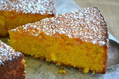 Minimal Monday: Flourless Whole Tangerine Cake (gluten free) - The View from Great Island- made with blood oranges instead, was delicious! Gluten Free Sweets, Gluten Free Cakes, Gluten Free Baking, Gluten Free Recipes, Gf Recipes, Flourless Desserts, Flourless Cake, Sweet Recipes, Cake Recipes
