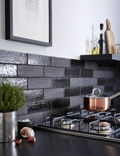 Offering a twist on the traditional brick effect tile, Aaronson Brick has a handcrafted finish which is achieved through a special manufacturing process where an extra application of clay has been added to the surface of the tile creating a unique and highly durable finish.