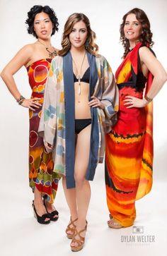 Dharma Trading Co. Featured Artist: Kim Kirchstein- silk painting and batik