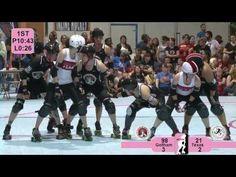 Roller Derby - ECDX 2013: Texas Rollergirls vs. Gotham Girls Roller Derby - YouTube