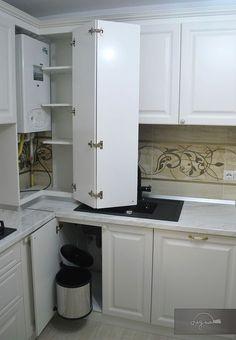 Kitchen Room Design, Studio Kitchen, Home Decor Kitchen, Kitchen Interior, Kitchen Corner Cupboard, Diy Kitchen Storage, Pantry Design, Modern Bathroom Decor, Cuisines Design