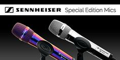 ColorWare offers Chrome and Illusion Sennheiser microphones!