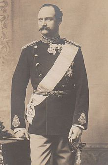 Frederick VIII of Denmark (1843 - 1912). Son of Christian IX and Louise of Hesse-Kassel. He succeeded his father as King.