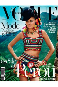 Mario Testino rinde homenaje al Perú en fotos de moda con Kate Moss