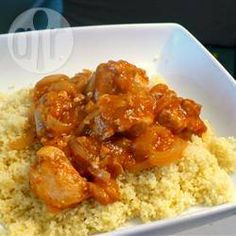 Moroccan chicken and apricot tagine @ allrecipes.co.uk