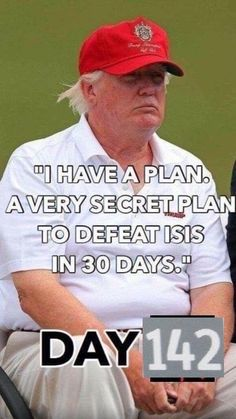 Tweet us your plan, Donnie. We want to hear it. (or is it hiding with your tax return.)