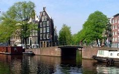 A canal in the Jordaan area