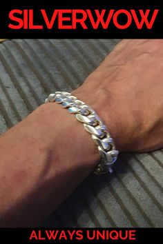 with Secure Lobster Lock Clasp 6mm Solid 925 Sterling Silver Cuban Curb ID Bracelet