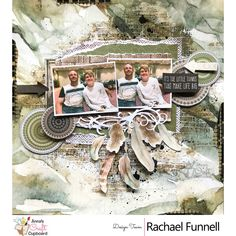 Rachael Funnell is up on our blog this week showcasing her gorgeous creations using the Kaisercraft Gypsy Rose Collection. The next share from Rachael is this stunning layout titled 'It's the little things'.