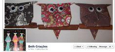 Beth Criações is on Facebook at: https://www.facebook.com/BethCriacoes //  Beth Arte Criações, você encontrará produtos diferenciados produzidos artesanalmente. Contato: bethcriacoes@yahoo.com.br //  Origami Facebook Pages is provided by www.standinnovations.com