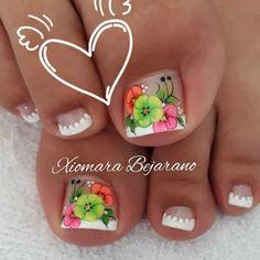 Toe Nail Art, Toe Nails, Pedicure, Nail Designs, Hair Beauty, Make Up, Designed Nails, Gel Nail, Toenails Painted