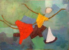 'ich kann Fliegen' von alfons niex bei artflakes.com als Poster oder Kunstdruck $15.77 Paul Klee, Great Paintings, Original Paintings, Michael Thompson, Angel Art, Coat Of Arms, All Print, Unique Art, Fine Art America