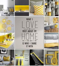 moodboard grey and yellow by AT