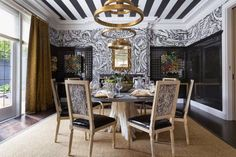 Top 10 Dramatic Dining Rooms