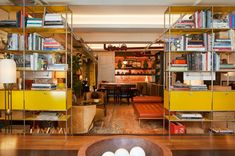 Why Drew McGukin's Colorful Home Differs from Those of His Clients - 1stDibs Introspective Hanging Bookshelves, Crate Bookshelf, Bookshelf Plans, Wallpaper Bookshelf, Interior Decorating, Interior Design, Interior Ideas, Simple Bookshelf, Modern Dresser