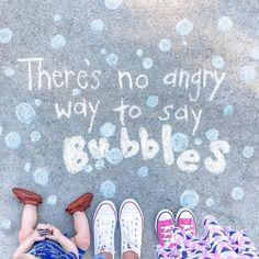 Quotes on sidewalk #Bullardfamily