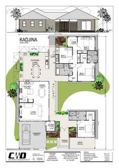 Kadjina Broome Display floor plan
