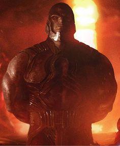 The Mighty Darkseid, (EC) I hope they get Michael Ironside to play the voice of Darkseid again. Comic Villains, Dc Comics Characters, Darkseid Dc, Darkside, Arte Cyberpunk, Univers Dc, Arte Dc Comics, Fourth World, Hulk Smash