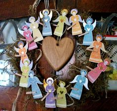 Love Making Things: A Host of Recycled Angels