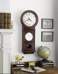 Howard Miller Lawyer II Reproduction Wall Clock