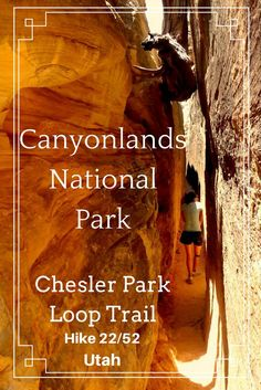 Hike in Canyonlands National Park. Hike Chesler Park Loop Trail. A beautiful hike in Utah. Read about how this was one of our favorite trails, but one of our worst hikes.