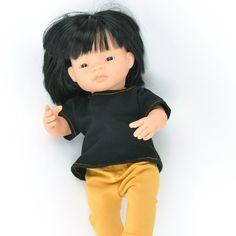 Miniland Free Shipping! Doll Clothing Winter Sweatshirt Set
