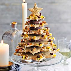 Heston Blumenthal's Christmas cookie tree centrepiece both looks and tastes fantastic. It's worth all the preparation and can be made in advance of Christmas.